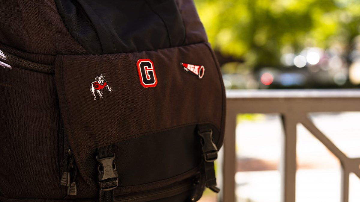 Vintage UGA embroidered sticker patches