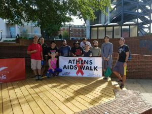 SAPPs Aids Athens Walkers