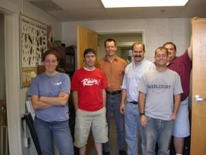 2006 lab kelly visits team