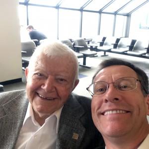 Chuck Triplehorn and Joe selfie