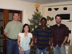 McLab team Christmas dinner 2011