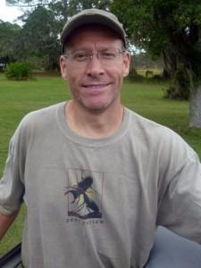 Sapelo 2011 Joe with peer review shirt