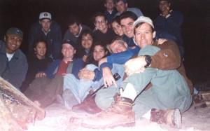 Sapelo bonfire 1998