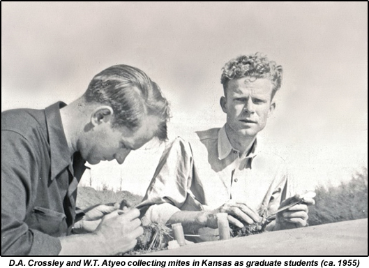 Tom Atyeo and Dac Crossley grad students in Kansas ca 1955.fw