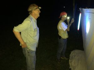 Cross Exped 2016 Rick and Richard at light
